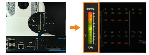 Utepo UTP3-GSW0806-TP150 - Дисплей потребления PoE