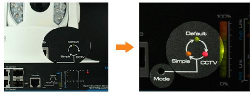 Utepo UTP3-GSW0806-TP150 - Удобное переключение между режимами: Default / CCTV / Simple