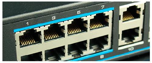 Utepo UTP3-GSW0806-TP150 - Cплюснутый дизайн контактов RJ45 порта